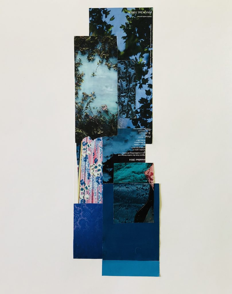 How does an artist engage with the uneasy churning of materiality, visuality, culture, and finance? Salvaging scraps from its excesses and reassembling them is one way….