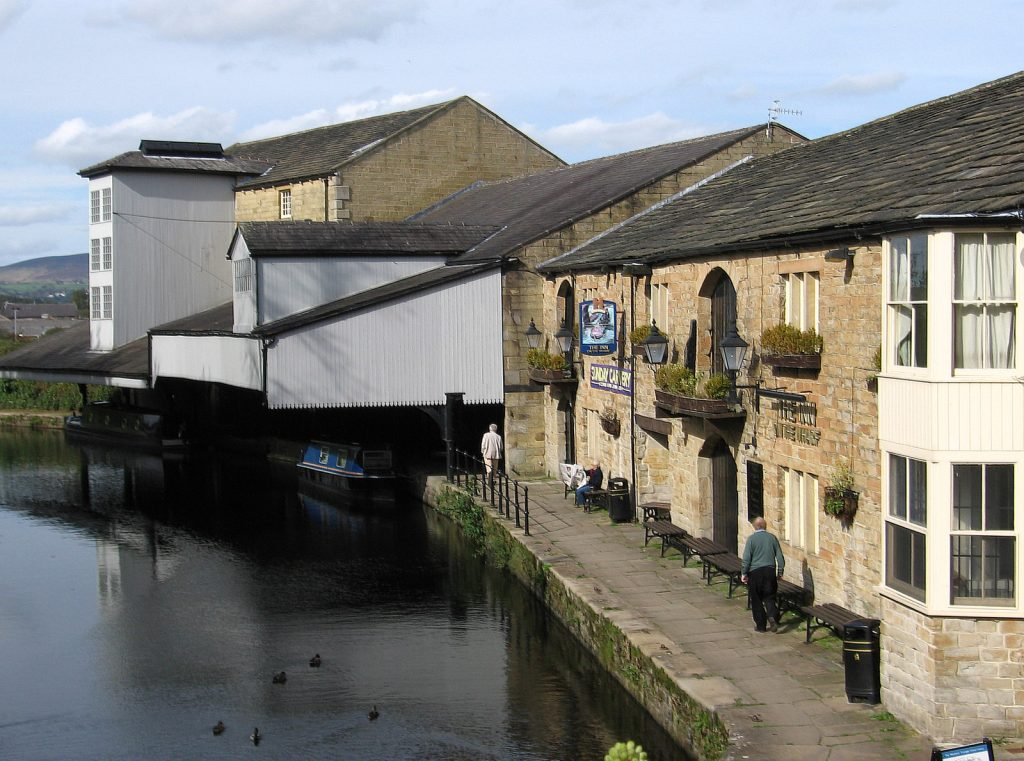 Warehouses at Weavers' Triangle, Burnley