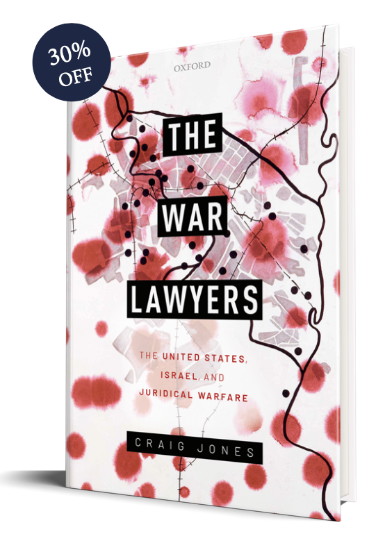 Craig Jones The War Lawyers cover
