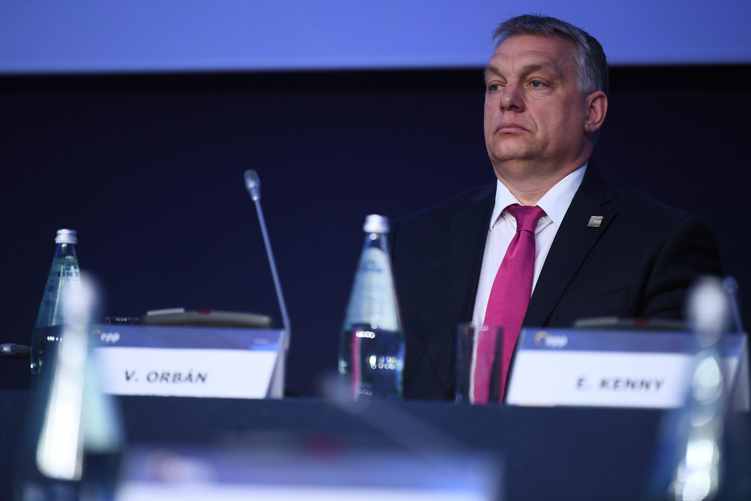 Viktor Orban at the EPP Malta Congress 2017 ; 29 March
